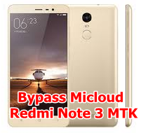 Remove Micloud Redmi Note 3 MTK