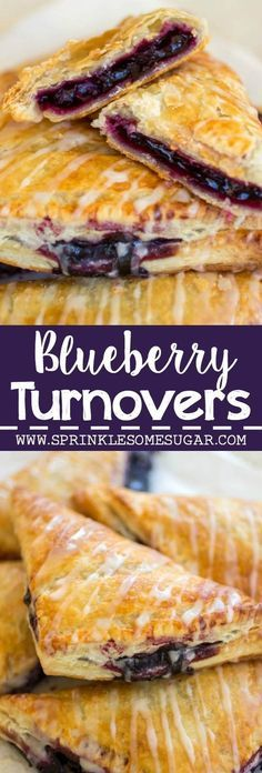 BLUEBERRY TURNOVERS – EASY TO MAKE