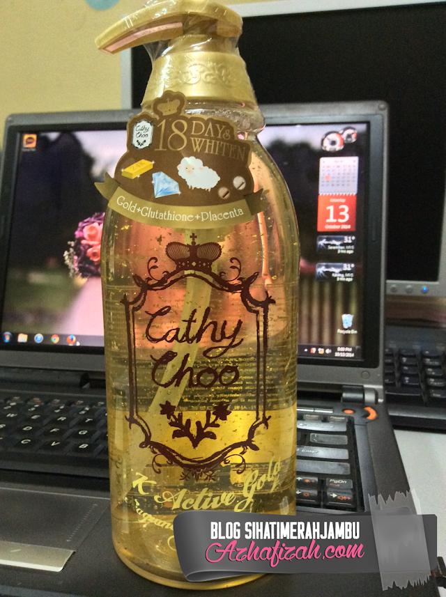 Cathy Choo 24k Active Gold Shower Gel Murah