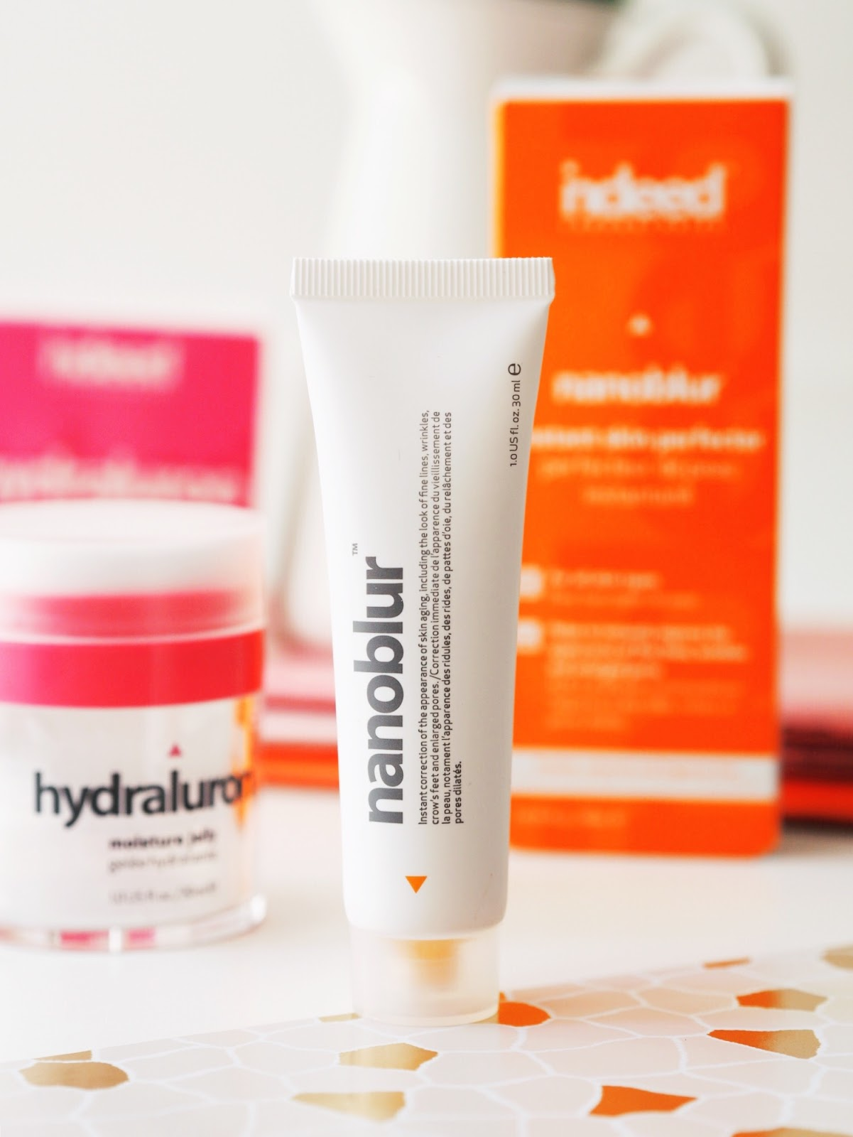 Indeed Labs Laboratories skincare hydraluron nanoblur review