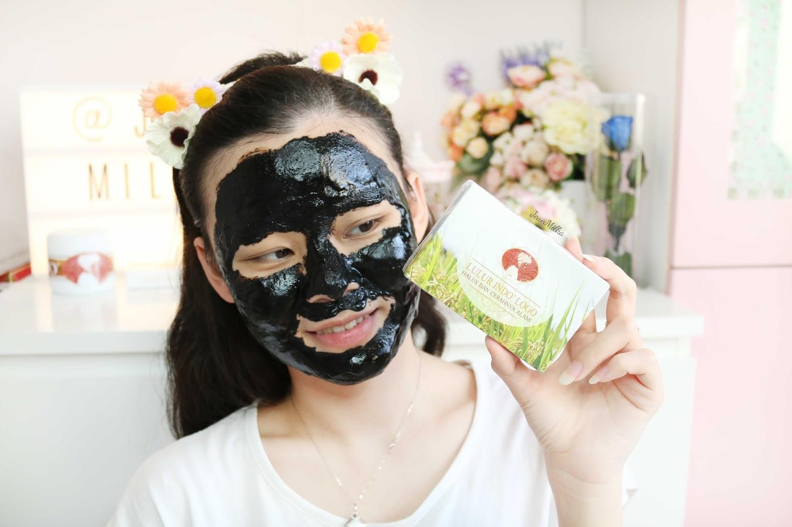 beda lontong, lulur hitam, indo logo, produk indonesia, lulur tradisonal, masker tradisional, lulur indo logo, beda lontong,