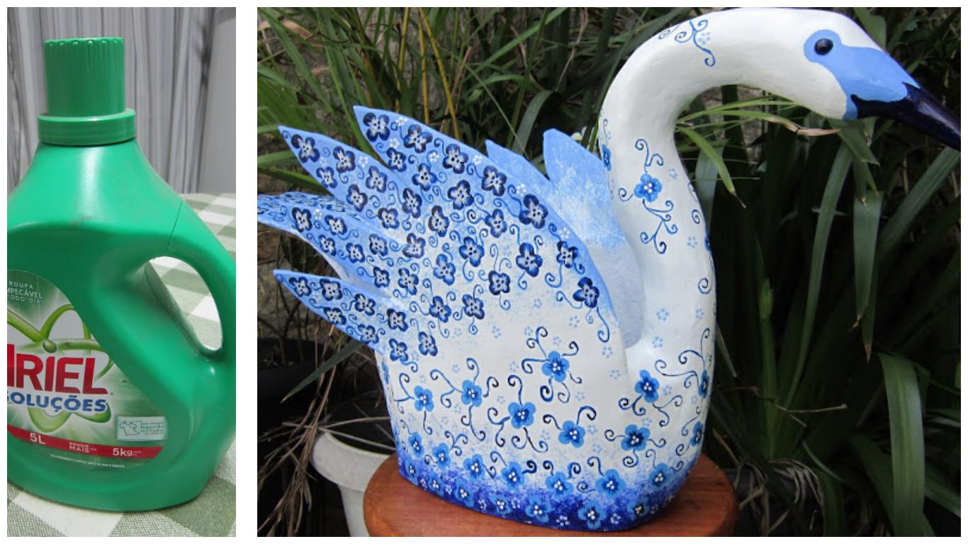 C mo reciclar botellas grandes de detergente lodijoella - Maceteros plasticos grandes ...