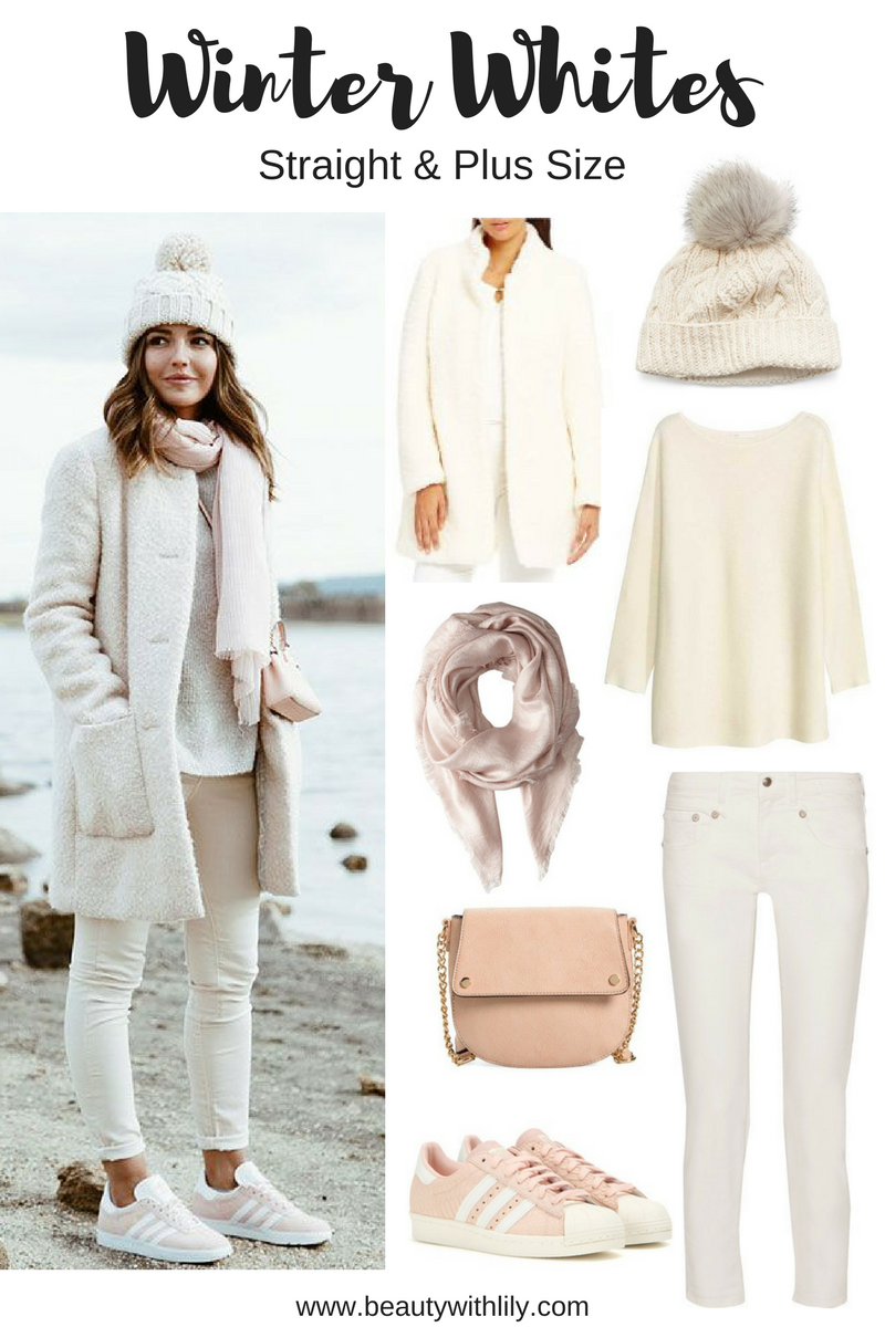 Winter White Outfit Ideas - Cozy Outfit | How to style white during the winter months >>> beautywithlily.com