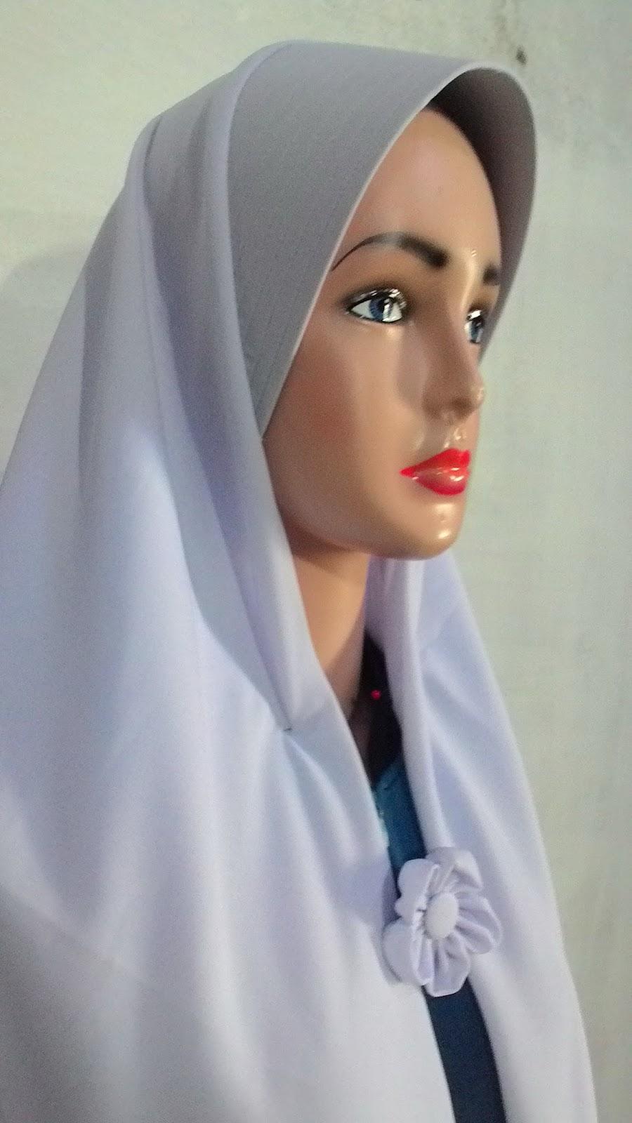 Jilbab Khimar Segiempat Semi Instan 06