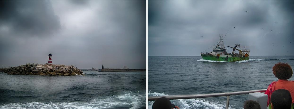 Travessia de barco entre Peniche e as Berlengas