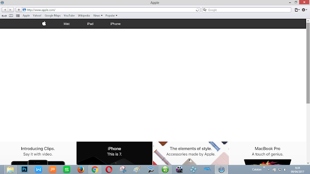 Browser bawaan Mac OS dari Apple
