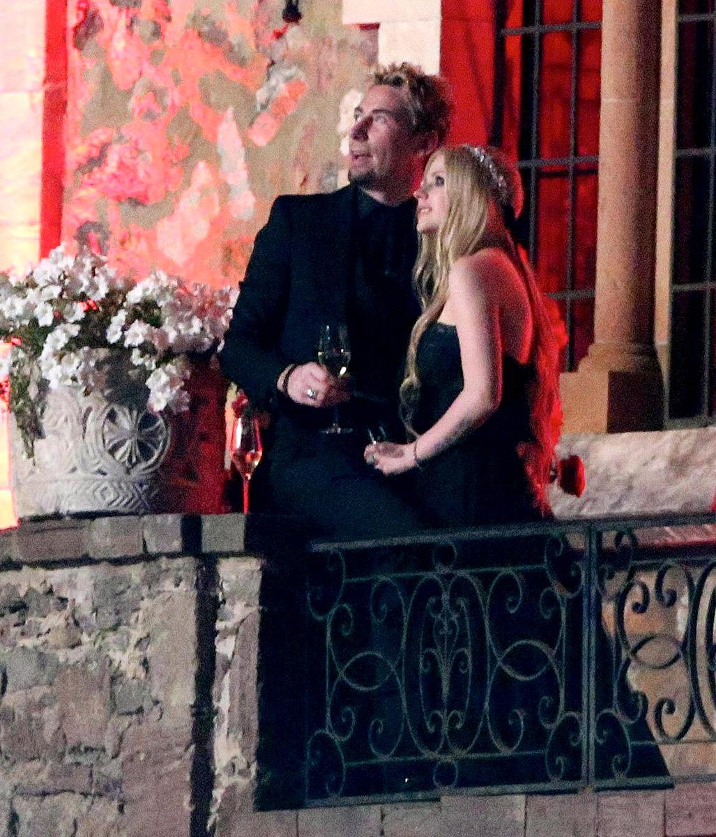 Avril Lavigne Wedding Gown