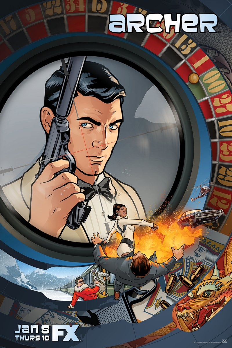 Archer (2009– ) ταινιες online seires oipeirates greek subs