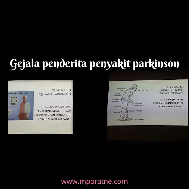 Awas bisa saja gejala parkinson di derita orangtua kita