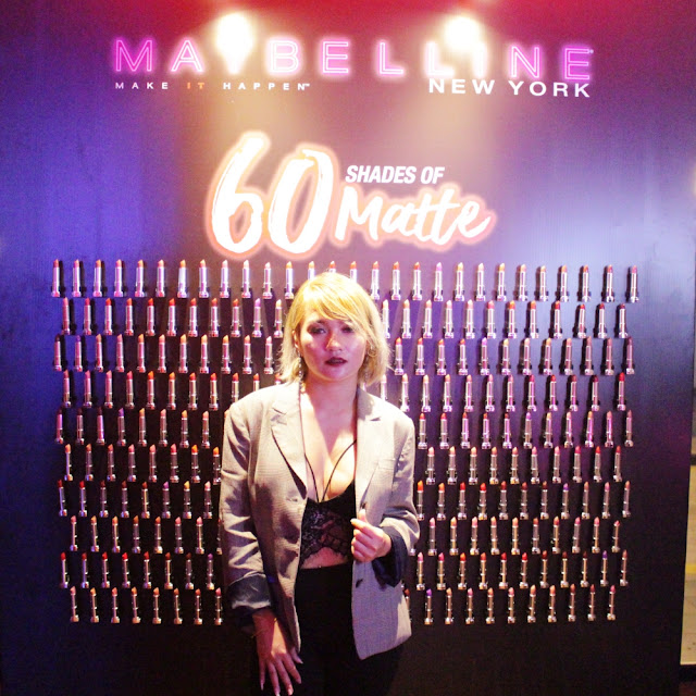 MAYBELLINE NEW YORK 60 SHADES OF MATTE - #ELFIRALOYXMAYBELLINE
