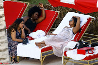 Priyanka Chopra in Bikini at a el pool  14 ~  Exclusive.jpg