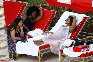 Priyanka Chopra in Bikini at a el pool  14 ~  Exclusive.jpg
