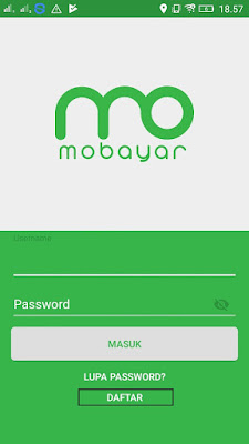 Cara daftar di aplikasi mobayar