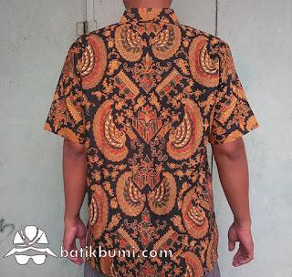 Kemeja batik sogan gurdo