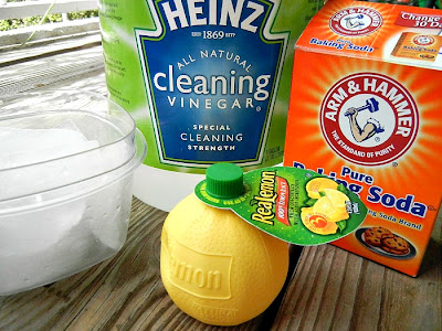 how to clean glass cups with vinegar