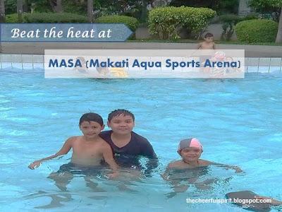 Beat the heat at MASA (Makati Aqua Sports Arena)