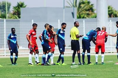 ⚽️ فوز فريق يوسفية برشيد على الدفاع الحسني الجديدي في مباراة ودية