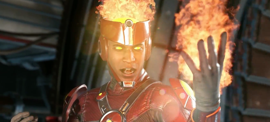 Firestorm sube las temperaturas de Injustice 2
