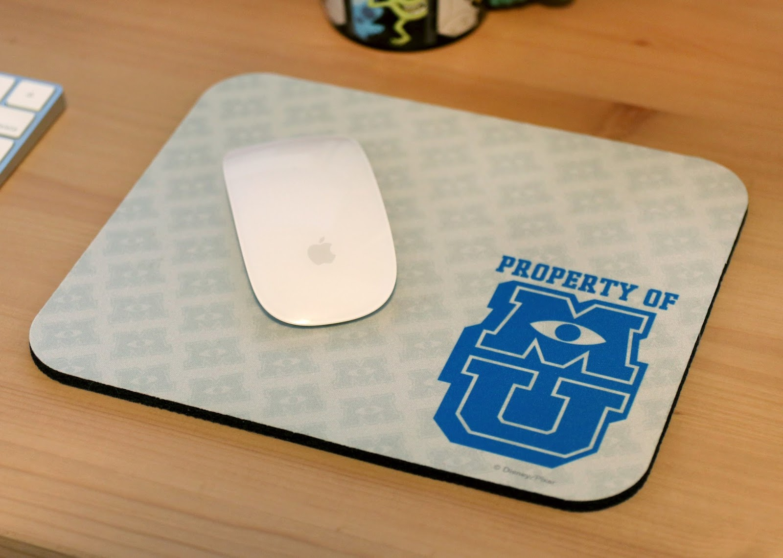 pixar monsters university mousepad