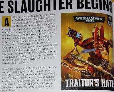 Traitors Hate White Dwarf
