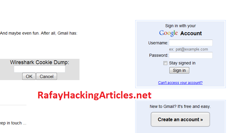 Gmail Cookie Stealing And Session Hijacking Full | Abid's