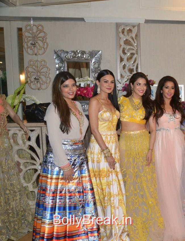 Jasmine Dhillon Hansraj, Anchal Kumar, Rashmi Nigam, Krishika Lulla,, Anchal, Evelyn, Arpita at Bridal Asia Show Media Preview