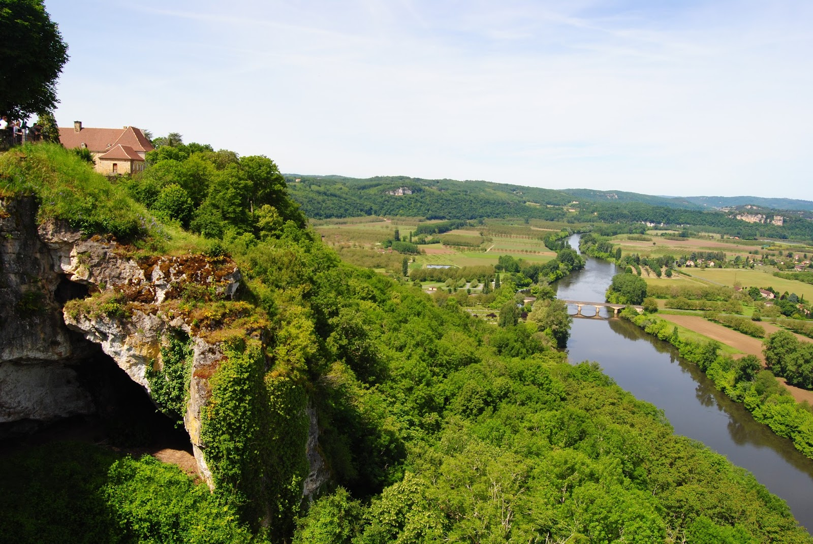 View of the Dordogne Valley from Domme