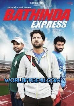 Poster Of Pollywood Movie Bathinda Express (2016) 100MB Compressed Small Size Mobile Movie Free Download worldfree4u.com
