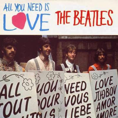 "The Beatles ""All You Need Is Love"" image"