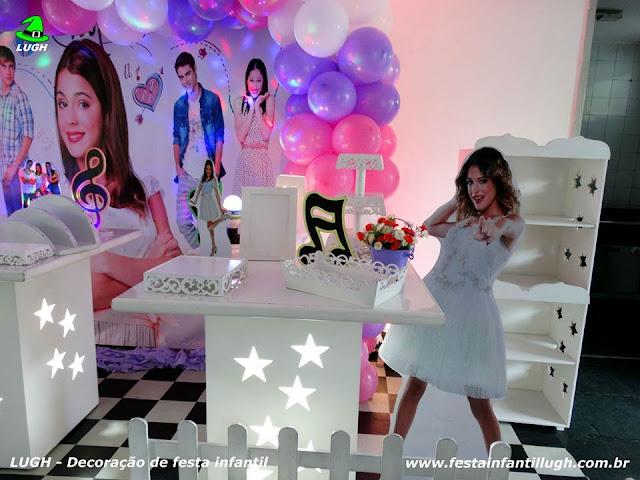 Decoração festa Violetta -Aniversário infantil
