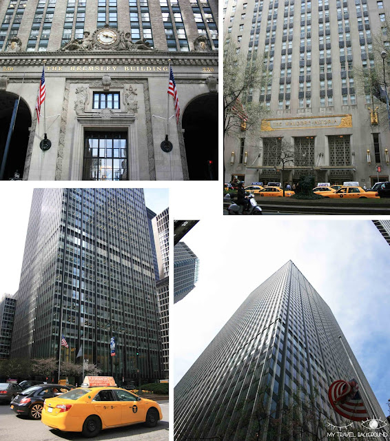 My Travel Background : Une semaine à New York - Park Avenue - Waldorf-Astoria, Helmsley Building