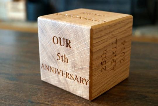 5 Year Anniversary Gift Ideas
