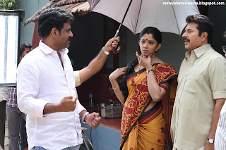 on the sets of Kunjananthante Kada