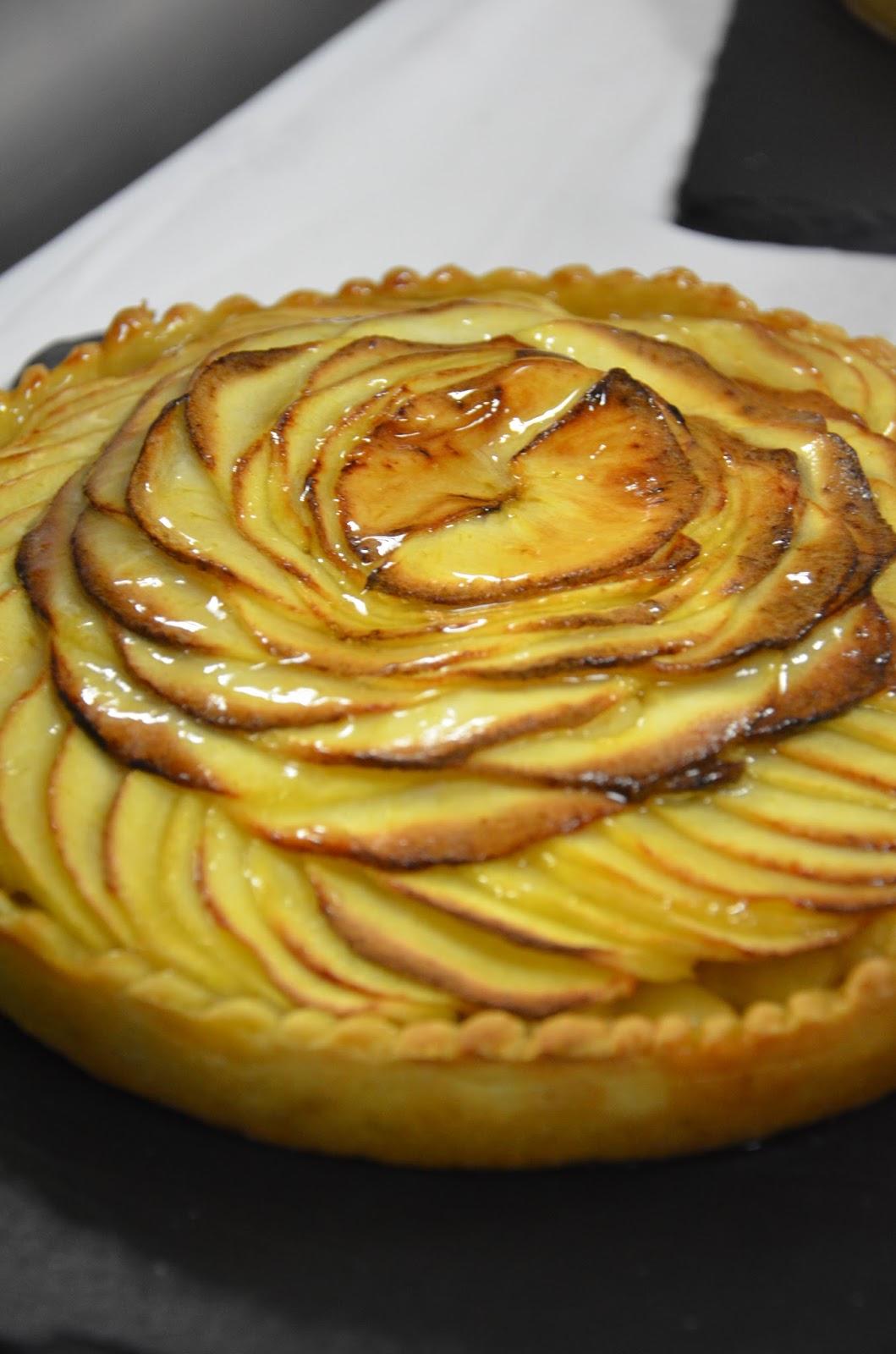 Tarte Aux Pommes Recipe  Dishmaps