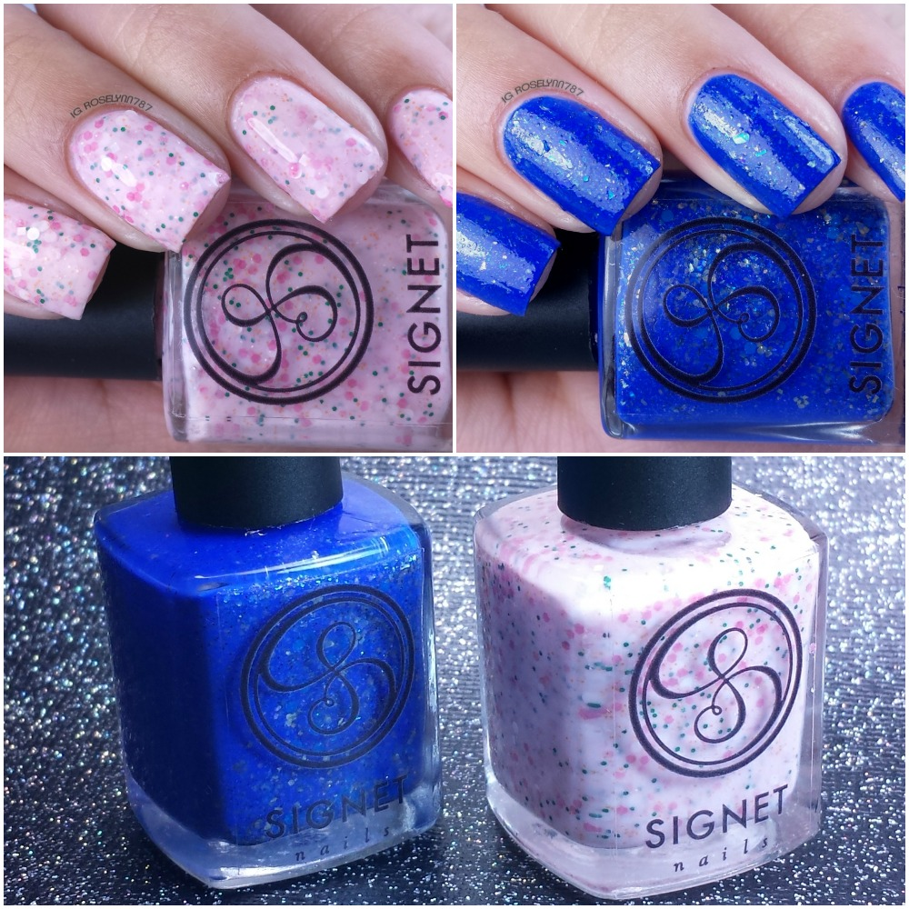Signet Nails - Spring 2015 Swatches