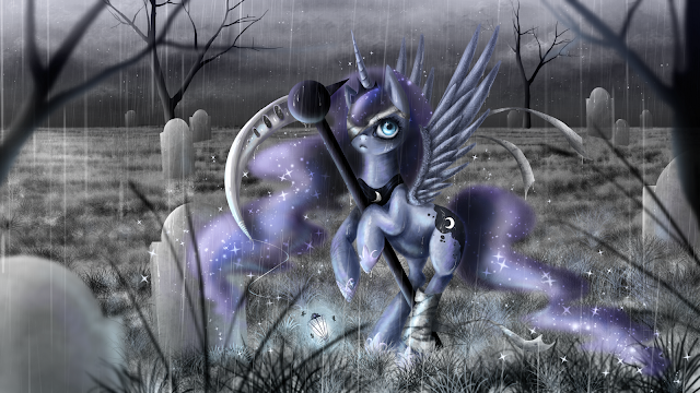 Equestria daily mlp stuff drawfriend stuff 388 - Princess luna screensaver ...
