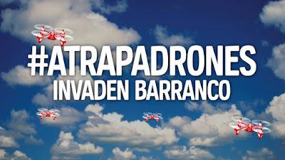 Busca a los Atrapadrones en Barranco y gana super premios