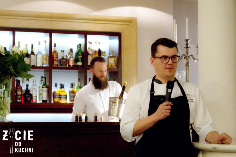 Lukasz Cichy, restauracja Biala Roza