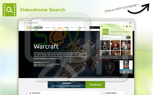 Videodrome Search (Adware)