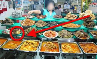 """Ciri - Ciri Tempat Makan Yang Ada  """"JIN PELUDAH"""" Sebagai Penglaris"""