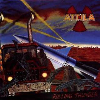 """Ο δίσκος των Attila """"Rolling Thunder"""""""
