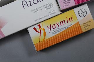 Reinicio da toma da pílula contraceptiva