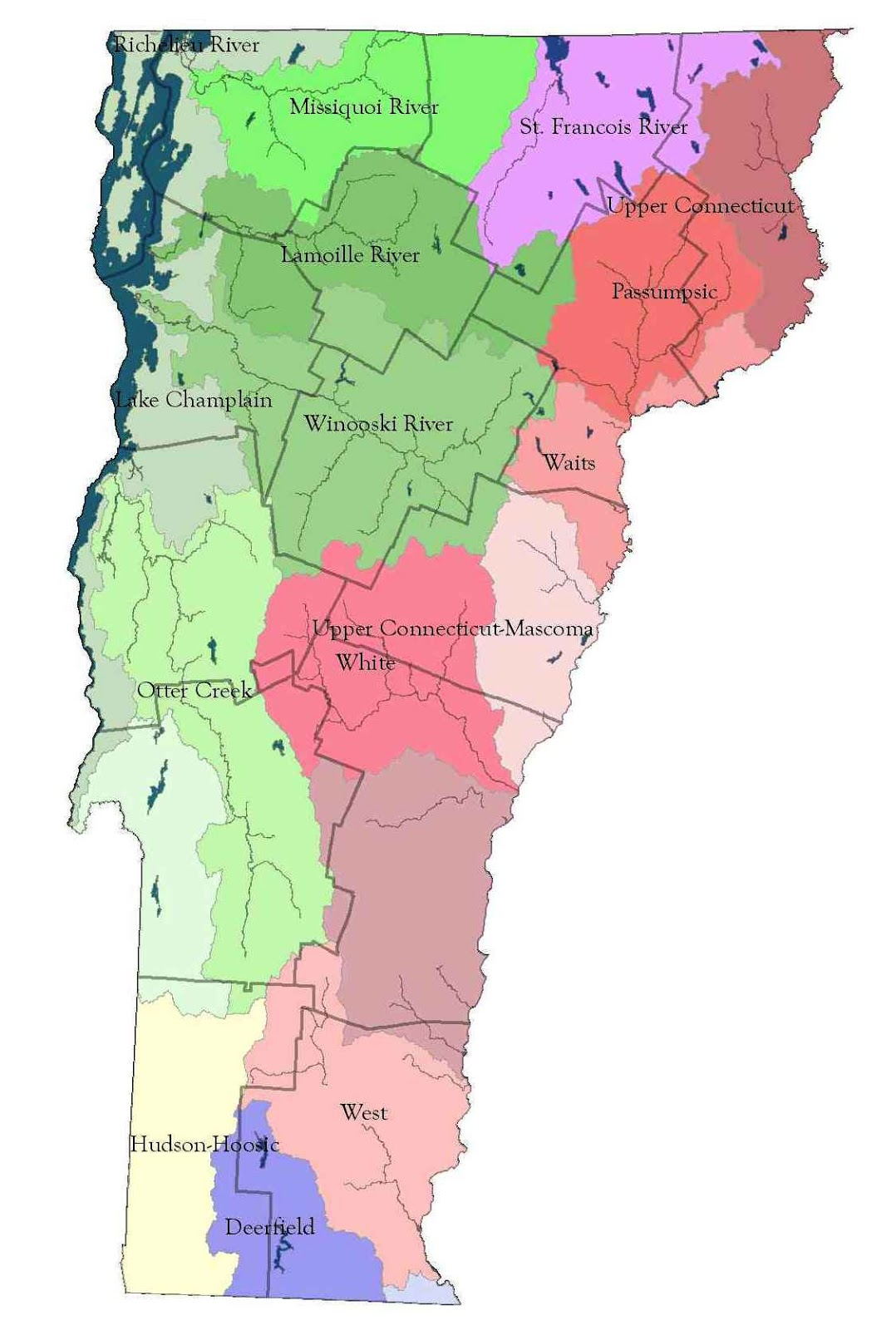 Vermont Floodplain Management FEMA Flood Hazard Map Updates - Fema flood maps washington state
