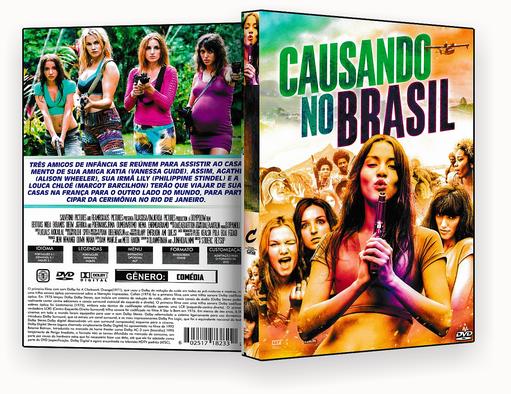 CAPA DVD – CAUSANDO NO BRASIL DVD-R