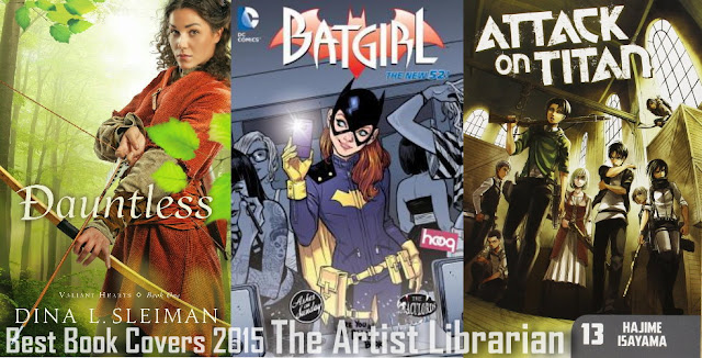@ArtistLibraryan's best reads and blogging in 2015: Best Book Covers