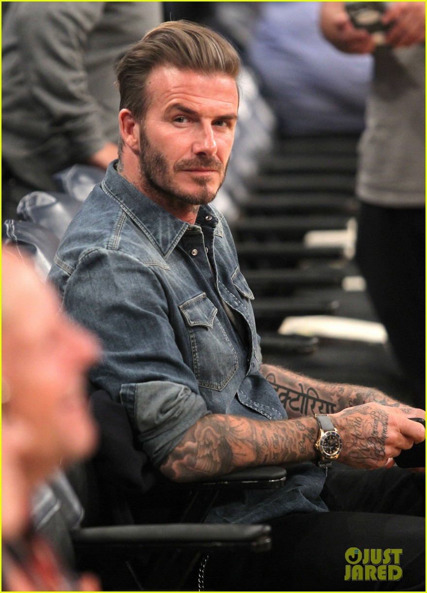 Wear it like beckham for David beckham