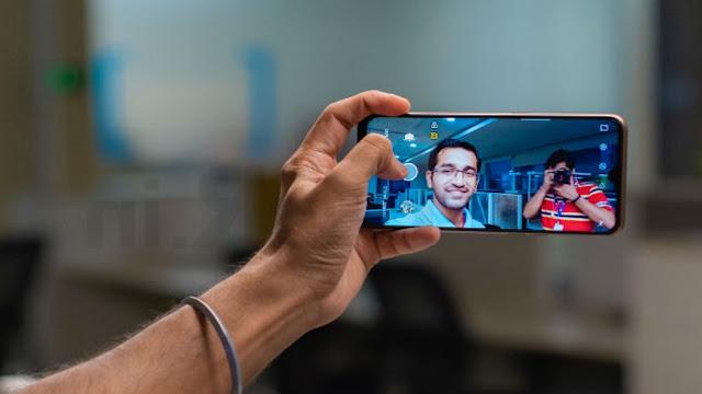 Realme selfie