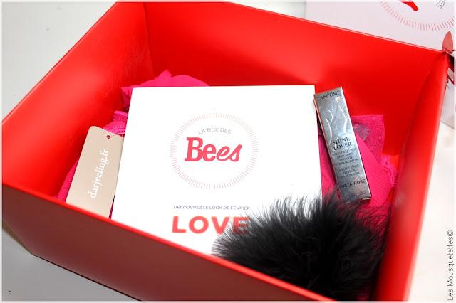 La Box beauté des Bees Love - Magazine Be - Ma Boutique Top Santé - Blog beauté Les Mousquetettes©