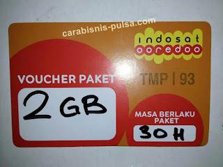 Voucher Kuota Internet Indosat 2GB 30 Hari
