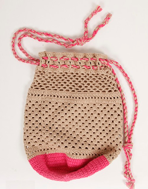 Berry Dip Bag - Free Crochet Pattern